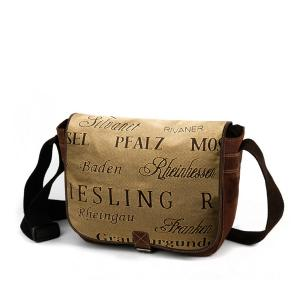 Weinstoff Zipit College-Bag